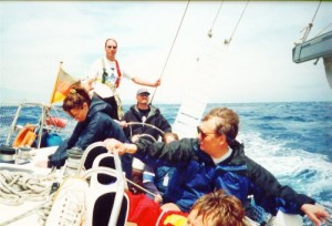 Yachtcharter Kroatien, Segeln bei Starkwind