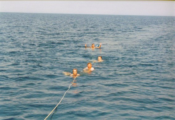 Spass bei Segeln Kroatien