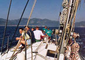 Segelreise Griechenland